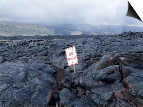 National Geographic Wall Murals lava flow kilauea hawaii volcanoes national park island