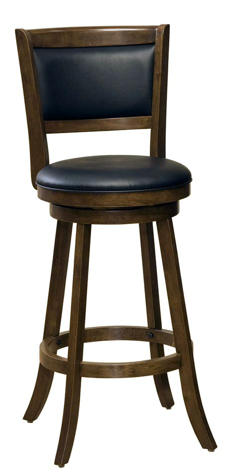 Hillsdale Bar Stools Clearance by Hillsdale Wood Stools 29 Quot Bar Height Dennery Swivel Bar