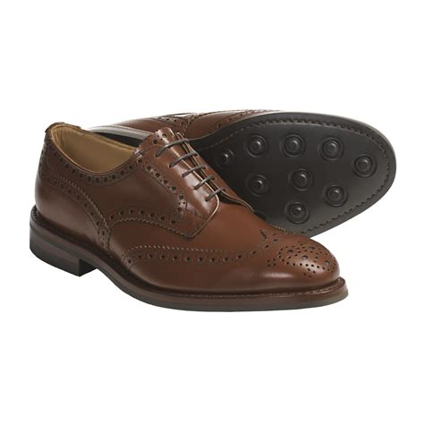 tricker s handmade wingtip derby shoes brogue welted