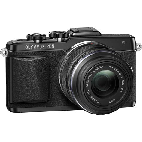 Olympus Pen F Mirrorless Micro Four Thirds Digital Only olympus pen e pl7 mirrorless micro four thirds v205071bu000 b h