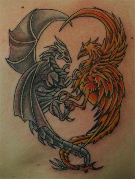 tattoo phoenix and dragon pinterest the world s catalog of ideas