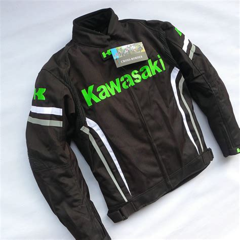 Tshirt Kawasaki 3 Roffico Cloth kawasaki motorcycle ride service oxford fabric jacket automobile race clothing motorcycle