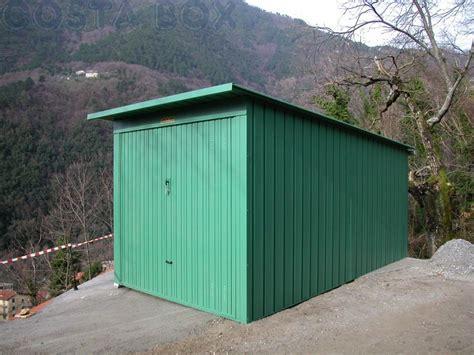 box per auto in lamiera box garage auto in lamiera costa box
