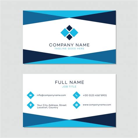free business cards templates downloads business card template vector free