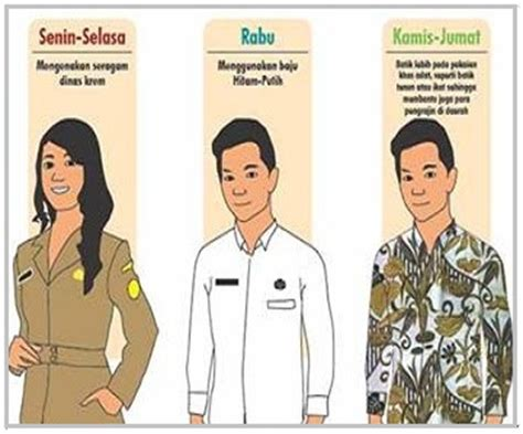 Pakaian Dinas Asn Ini Kriteria Pakaian Seragam Dinas Asn Yang Benar Sesuai