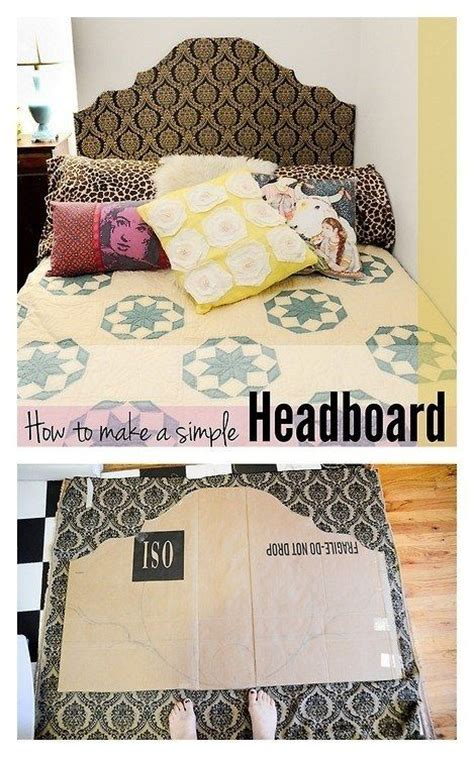 cheap headboard ideas pinterest best 25 cardboard headboard ideas on pinterest cheap