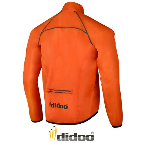mens hi vis waterproof cycling mens cycling jacket high visibility waterproof running top
