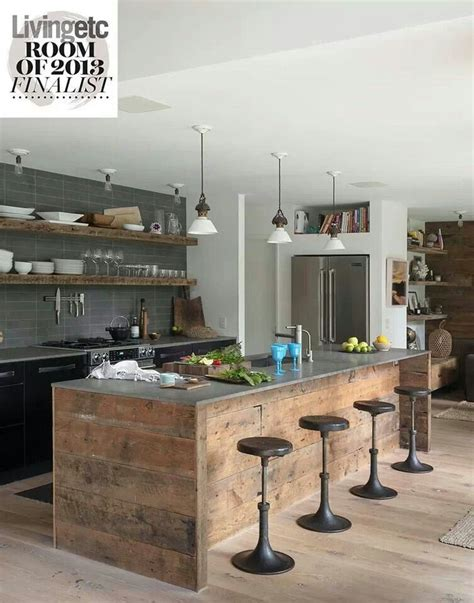 rustic industrial 4square designs best 25 modern rustic kitchens ideas on