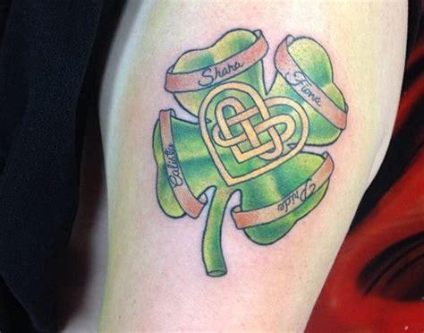 15 seltene vierbl 228 ttriges kleeblatt tattoos und ihre bedeutung