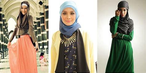 Bentuk Jilbab Model Jilbab Untuk Wajah Bentuk Bulat Pusat Model