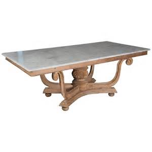 1930s english marble top dining table for sale at 1stdibs