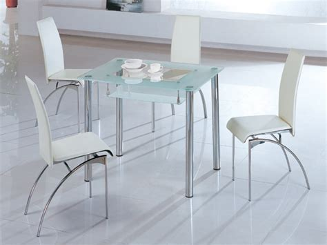 Small Glass Kitchen Table Sets 25 Small Dining Table Designs For Small Spaces Inspirationseek