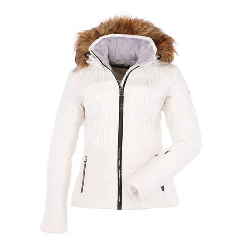 Jas Slim Fit luhta beta slim fit ski jacket optic white skiwebshop