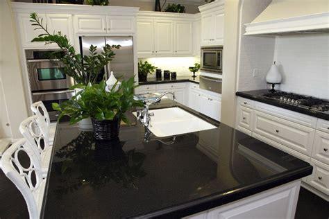 Black Quartz Kitchen Countertops by Quartz Kitchen Countertops Pros And Cons Black Quartz