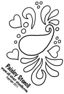 Stencil print free project ideas with free stencils