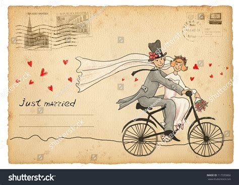 Wedding Card With Groom And by Vintage Wedding Greetings Card Groom And On A