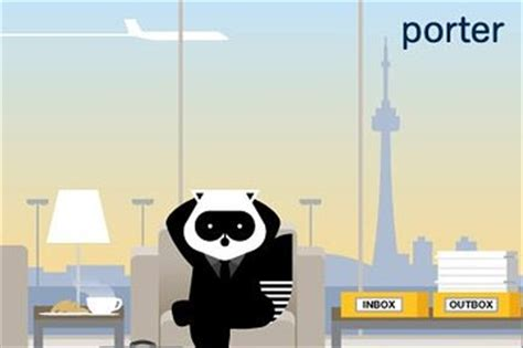 porter airlines news canada real time wsj