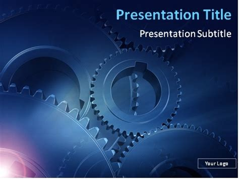 engineering powerpoint template powerpoint template free engineering