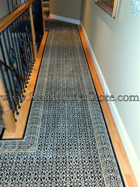 Hallway Floor Runners by Custom Hallway Runners Traditional Other Metro By The Stair Runner Store Creative