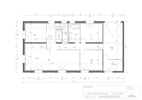 plans design plans de r 233 novation de rdc de maison