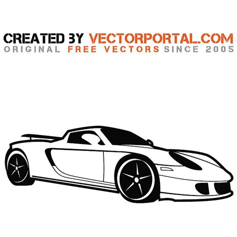 porsche vector porsche car vector image at vectorportal