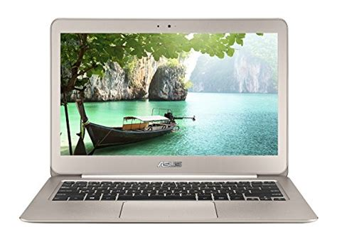 Laptop Asus I5 13 3 Inch asus zenbook ux305la 13 3 inch laptop intel i5 8gb 256 gb ssd titanium gold with