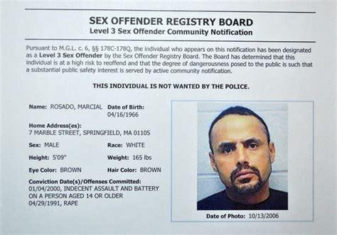 Criminal Registry Offenders Regester