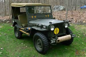 Antique Jeeps 1951 Willys M38 Fully Restored Antique Army