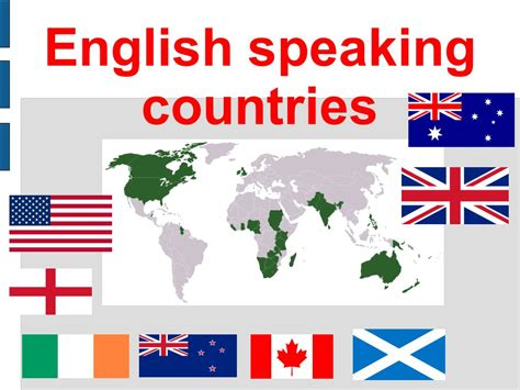 what are the speaking countries speaking countries ppt