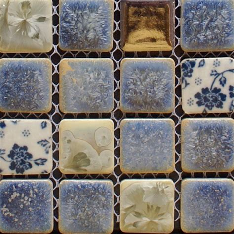 french blue and white ceramic tile backsplash porcelain tile backsplash kitchen for walls blue and white