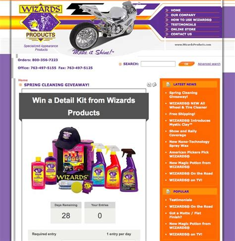 Sweepstakes Prize Entry Center - promosimple increase your brand awareness with sweepstakes design promosimple