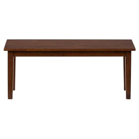 Dining Room Table Benches | simplicity wooden dining room table bench 452 14kd decor south