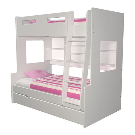 3 bed bunk beds bunk bed 3 racso designs