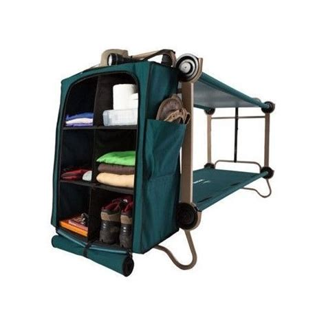 Bunk Bed With Cot Bunk Bed Cing Cot Foldaway Fishing Hiking Outdoor Sleeping Gear O New Ebay Hiking And