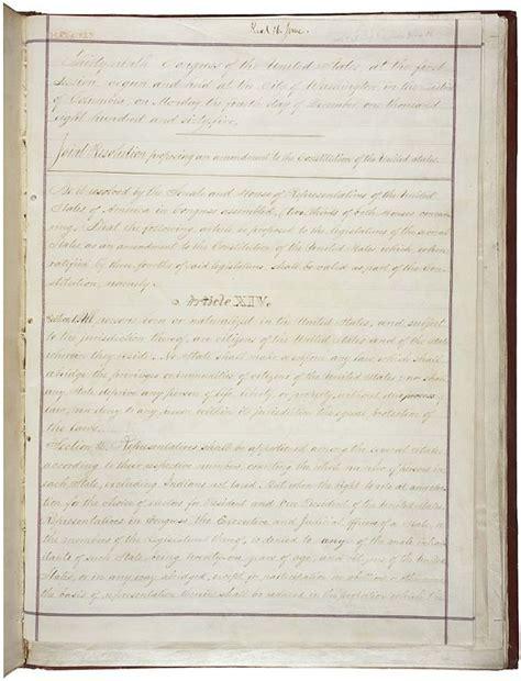 14th amendment section 2 file 14th amendment pg1of2 ac jpg wikimedia commons