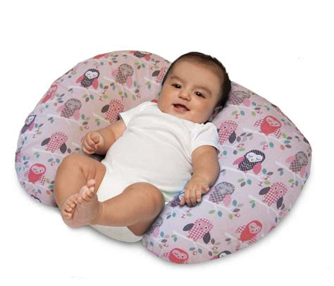 Is Pillow For Baby by Boppy Pillow With Slipcover Owls Breast