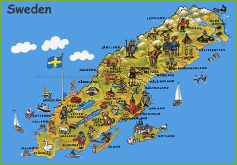 map of tourist attractions maps update 18401281 tourist attractions map in sweden