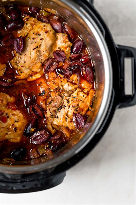 instant pot chicken cacciatore recipe plays   butter