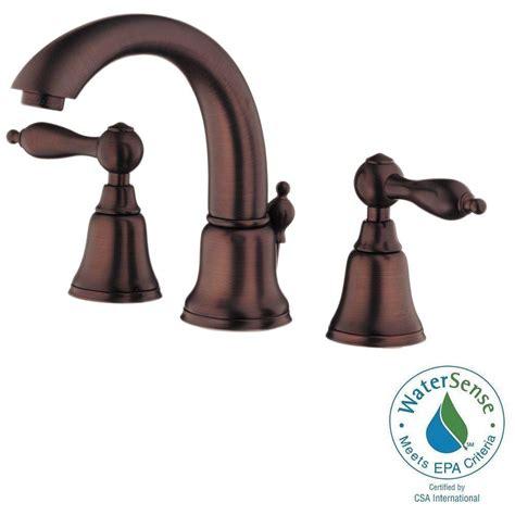 pacific sales bathroom faucets danze fairmont 8 in widespread 2 handle mid arc bathroom faucet in rubbed bronze d304040rb