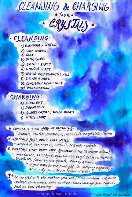 guide  cleansing charging  programming