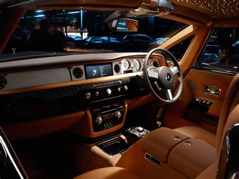 rolls royce phantom interior dream cars