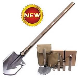 survival multi tool with firestarter pagreberya survival shovel kit with multi tools compass