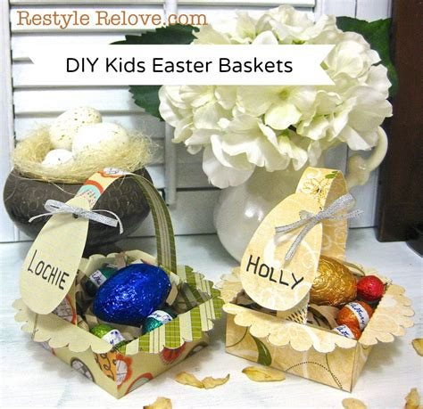 diy easter gifts diy kids easter baskets