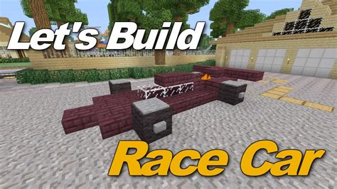minecraft race car how to build a race car in minecraft xbox 360 minecraft