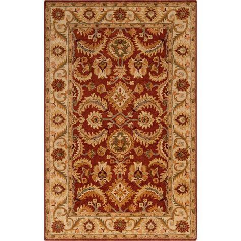 rug 8 x 11 artistic weavers aelia burgundy 8 ft x 11 ft indoor area rug s00151000058 the home depot