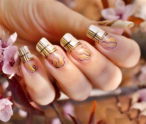 imagenes de uñas decoradas transparentes decoracion de u 241 as aprende a hacer u 241 as decoradas paso a