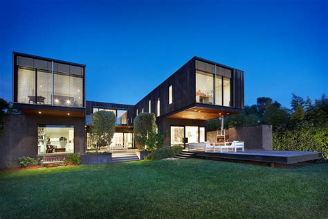 contemporary house renovation by jackson clements burrows