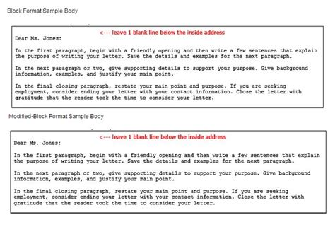 Business Letter Writing Sentences template for writing business letters