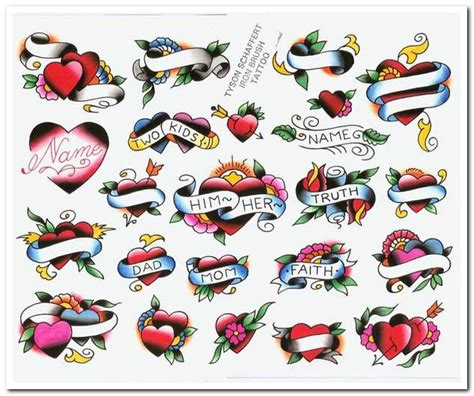 heart tattoo designs with banner bleeding designs and banner