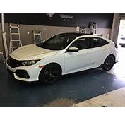 Wrapped Roof N Fogs Hatchback Sport  2016 Honda Civic